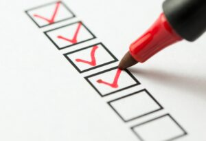 checklist-with-red-marker